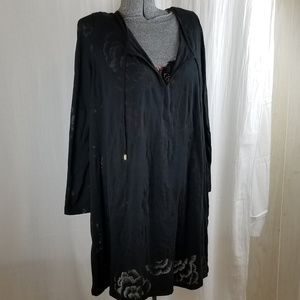 Other - NWT Floral Rose Swimsuit Cover Up